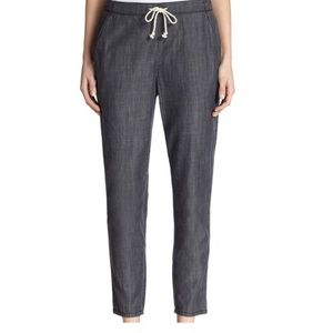 Eileen Fisher Chambray Jogger Pant